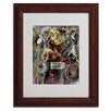 Trademark Fine Art Ikahl Beckford 'Pearl Jam' Matted Framed Art