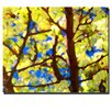"""<strong>""""Spring Tree"""" by Amy Vangsgard Painting Print on Canvas</strong> by Trademark Fine Art"""
