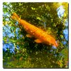 "<strong>Trademark Fine Art</strong> ""Koi Fish"" by Amy Vangsgard Painting Print on Canvas"