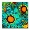 "<strong>Trademark Fine Art</strong> ""Pop Daisies"" by Amy Vangsgard Painting Print on Canvas"