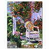 <strong>Trademark Fine Art</strong> 'The Sun Chair' by David Lloyd Glover Painting Print on Canvas