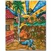 Trademark Fine Art 'Descando Mutatino' by Duran Painting Print on Canvas