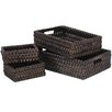 <strong>4 Piece Wicker Basket Set</strong> by Entrada