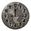 "Entrada Oversized 23.6"" Metal Wall Clock"