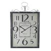 <strong>Entrada</strong> Bordeaux Metal Wall Clock