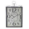 Entrada Bordeaux Metal Wall Clock