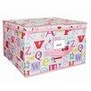 Laura Ashley Home Owlphabet Storage Box