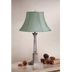 Corinthian Table Lamp with Charlotte Bell Shade