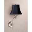 <strong>Laura Ashley Home</strong> Josephine 1 Light Wall Sconce with Charlotte Bell Shade