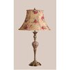 "Laura Ashley Home Verona 28"" H Table Lamp with Floral Bell Shade"