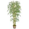 <strong>Silk Bamboo Tree in Basket</strong> by Laura Ashley Home