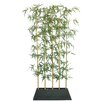 Laura Ashley Home Tall Silk Bamboo Tree Screen in Planter
