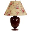 """Laura Ashley Home Madeleine 17.5"""" H Table Lamp with Floral Empire Shade"""