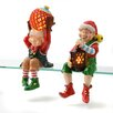 Lion Sports 2 Piece Set CandleTEK Sitting Elves Flameless Candles