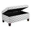 <strong>Chevron Ottoman</strong> by Dorel Asia