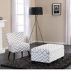 Dorel Living Side Chair and Ottoman