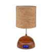 "All the Rages LightTunes Bluetooth 16.54"" H Table Lamp with Drum Shade"