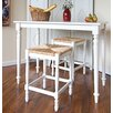 <strong>Hawthorne 3 Piece Counter Height Dining Set</strong> by Carolina Cottage