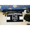FANMATS NHL Los Angeles Kings 2014 Stanley Cup Champions Starter Area Rug