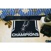 FANMATS NBA San Antonio Spurs 2014 Champions Starter Black Area Rug