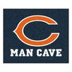 FANMATS NFL Chicago Bears Man Cave Outdoor Area Rug