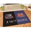 FANMATS NCAA House Divided Novelty Mat
