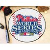 <strong>MLB Philadelphia Phillies - 2008 World Champions Baseball Mat</strong> by FANMATS