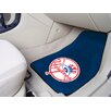 FANMATS MLB 2 Piece Novelty Carpeted Car Mats