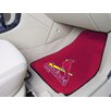 MLB 2 Piece Novelty Carpeted Car Mats