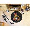 FANMATS NHL Ottawa Senators Hockey Puck Mat