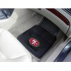 <strong>FANMATS</strong> NFL 2 Piece Novelty Car Mats