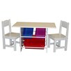 <strong>Kids 3 Piece Table and Chair Set</strong> by RiverRidge Kids
