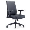 Whiteline Imports Columbia Low-Back Office Chair
