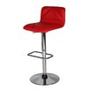 Whiteline Imports Vivo Adjustable Height Bar Stool with Cushion