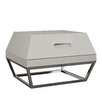 Whiteline Imports Angulatus 1 Drawer Nightstand