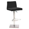 Whiteline Imports Medusa Adjustable Height Bar Stool with Cushion