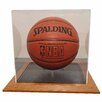 <strong>Basketball Display Case in Wood</strong> by Caseworks International