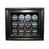 <strong>NHL Twelve Puck Cabinet Style Display Case in Black</strong> by Caseworks International