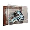 Caseworks International NHL Goalie Mask Case Up Display Case in Brown
