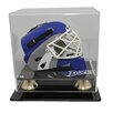Caseworks International NHL Mini Hockey Helmet Display Case in Horizontal View