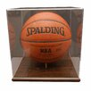 <strong>Basketball Display Case in Acrylic Base</strong> by Caseworks International