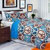 Lavish Home Peace Quilt Set