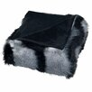Lavish Home Long-Haired Faux Fur 100% Polyester Throw
