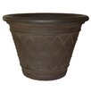 <strong>Planters Online</strong> Diamante Round Pot Planter