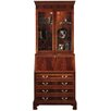 Jasper Cabinet Sterling Mahogany Drawer Secretary with Lapotop Pigeon Holes and Hutch