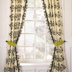 Shadows Velvet Rod Pocket Curtain Panel  (Set of 2)