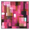 <strong>Indigo Avenue</strong> Modern Living Modular Tiles IV Framed Painting Print