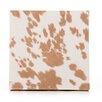 Sweet Potato by Glenna Jean Happy Trails Cow Print Fabric Canvas Art