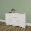 Nexera Vichy 6 Drawer Double Dresser