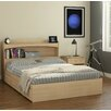 Nexera Alegria Storage Platform Bed Set